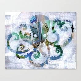 For the love of Octopus Canvas Print