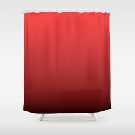 Donated Kidney Pink and Black Deadly Ombre Nightshade Shower Curtain