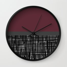 polu Wall Clock
