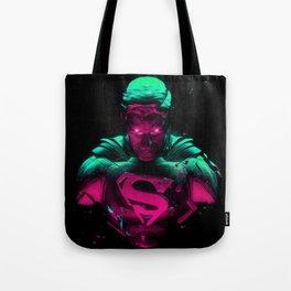 Man Of Steel 4 Tote Bag