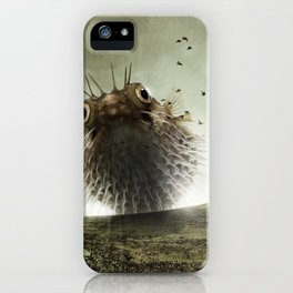 Pufferfish iPhone Case