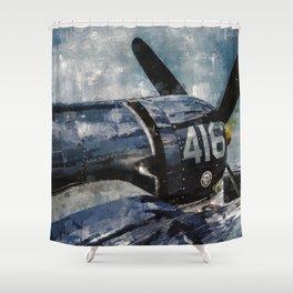 Corsair Shower Curtain