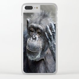 Chimp Clear iPhone Case