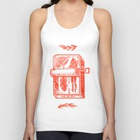 fish Tank Tops featuring Little Fish by Karl James Mountford