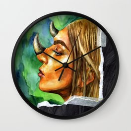 stay Joanne Wall Clock