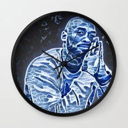 Bryant Artistic Illustration Lighting Bolt Style Wall Clock