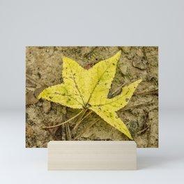 The Yellow Leaf Mini Art Print