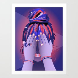 Your Mind Palace Art Print