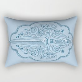 Ornamental Dagger Rectangular Pillow