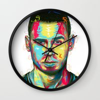 african Wall Clocks featuring African by LeRoy
