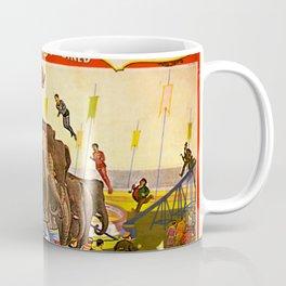 1899 Forepaugh & Sells Brothers Combined Circus Elephant Poster Coffee Mug