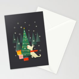 Little White Christmas Westie Stationery Cards