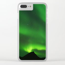 The Northern Lights 07 Clear iPhone Case