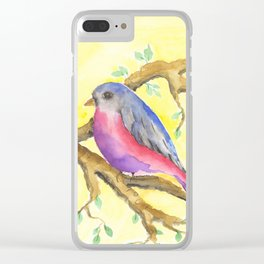 Bird of Fantasy Clear iPhone Case