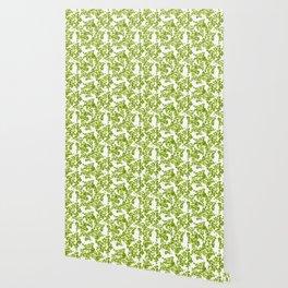 Green Leaf Art Wallpaper