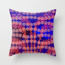Snowflake's carneval Throw Pillow
