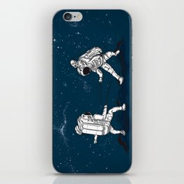 Fencing at a higher Level iPhone Skin