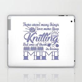 Knitting Mimi Laptop & iPad Skin