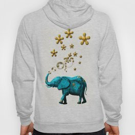 Glitter Bubble Elephant Hoody