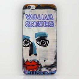 William Shakespeare Elizabeth iPhone Skin
