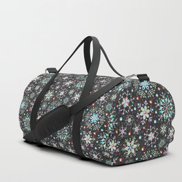 Snowflake Filigree Duffle Bag