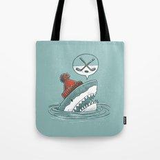 Hockey Shark Tote Bag