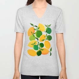 Lemons and Limes Unisex V-Neck