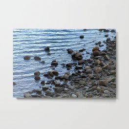 Water's Edge at Walden Pond 2 Metal Print