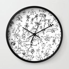 Alexa Doodle Wall Clock