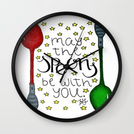 The Spoonie Force Wall Clock
