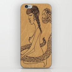SnakeGirl iPhone & iPod Skin