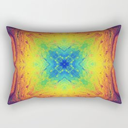 Psychedelic Two Rectangular Pillow