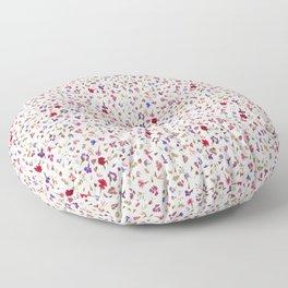Mini Meadow Flowers Floor Pillow
