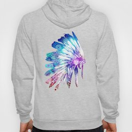 mandala colorful headdress Hoody