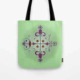 Voodoo Symbol Papa Legba Tote Bag