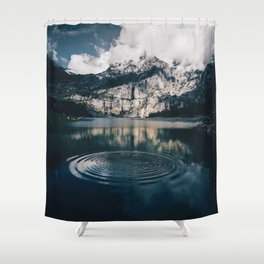 Ripples (Color) Shower Curtain
