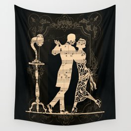 Romance D Automne Wall Tapestry