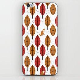 Autumn Fox iPhone Skin