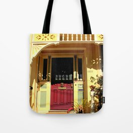Stage Door - 1889 - No Soliciting Tote Bag