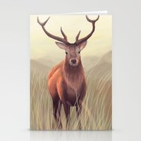 elk Stationery Cards featuring ELK by Juliana Vidal