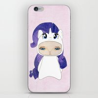 mlp iPhone & iPod Skins featuring A Boy - Rarity by Christophe Chiozzi