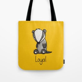 The Loyal Badger Tote Bag