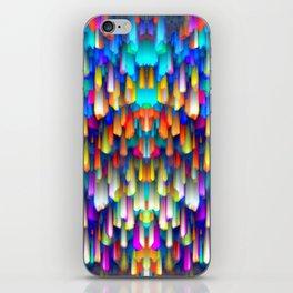 Colorful digital art splashing G390 iPhone Skin