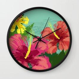 Tropic Delight Wall Clock