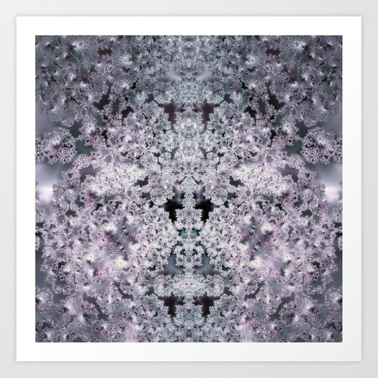 Purple World Art Print