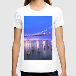 World Famous Oakland Bay Bridge San Francisco City California USA North America Ultra HD T-shirt