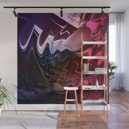 Anger management - An abstract mood illustration Wall Mural