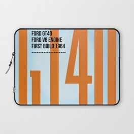 GT40 Gulf Tribute Laptop Sleeve