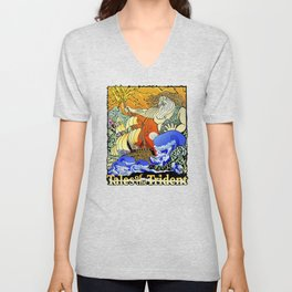 Tales of the Trident:Poseidon with Title Unisex V-Neck