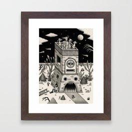 On the Outside Framed Art Print